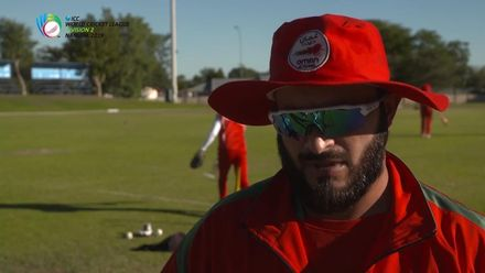 WCL 2: Namibia v Oman – Zeesham Maqsood interview