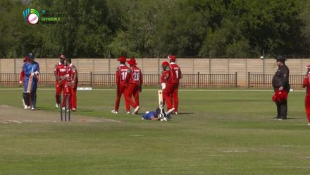 WCL 2: Namibia v Oman – Frylinck run out for 7