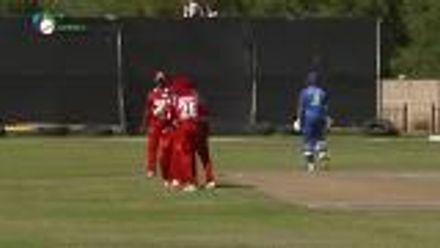 WCL 2: Namibia v Oman – Bredenkamp stumped off Maqsood