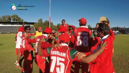 ICC WCL Division 2: Namibia v Oman full match highlights