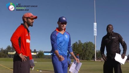 WCL 2: Hong Kong vs Namibia – Toss