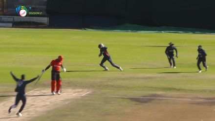 WCL 2: Canada v USA – Thomas caught behind for nought