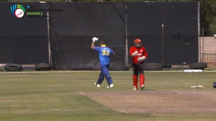WCL 2: Hong Kong v Namibia – Kotze celebrates his 100 in style