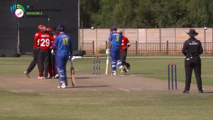 WCL 2: Hong Kong v Namibia – Bredenkamp dismissed for 19