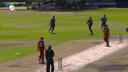 WCL 2, Final: Namibia v Oman – Oman lose two early wickets