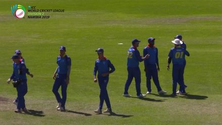 WCL 2, Final: Namibia v Oman – Viljoen's spectacular catch
