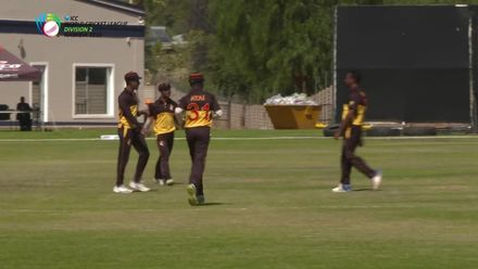 WCL 2: USA v PNG – Netravalkar falls to a good catch by Amini