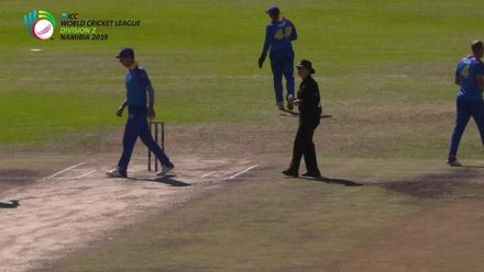 Claire Polosak reflects on umpiring the WCL2 final as the first female to stand in a men's ODI