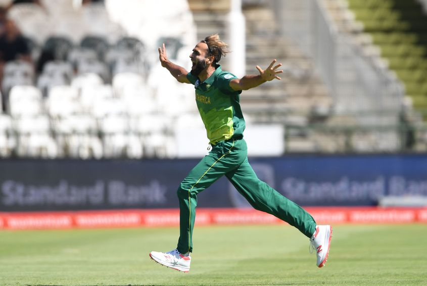 Imran Tahir won't be doing much more of this in ODIs