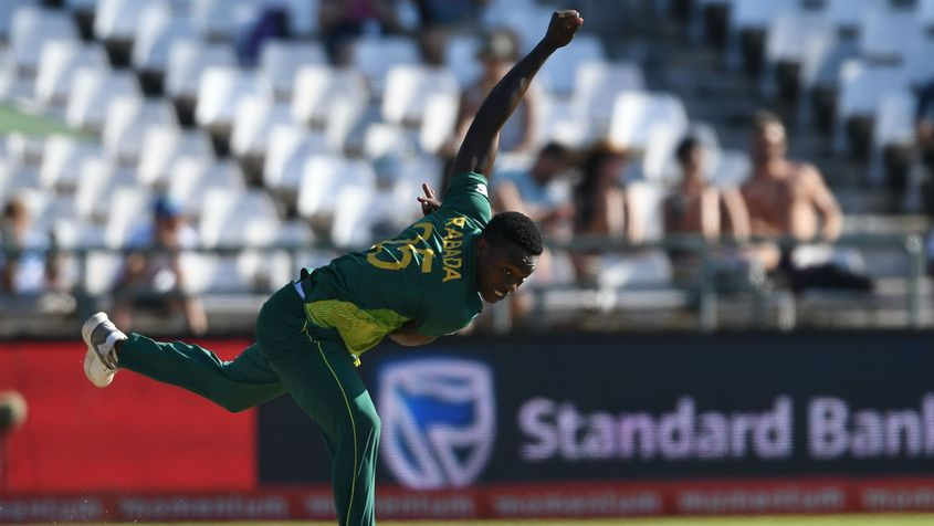 With his sheer pace, Rabada can unsettle the best of batsmen