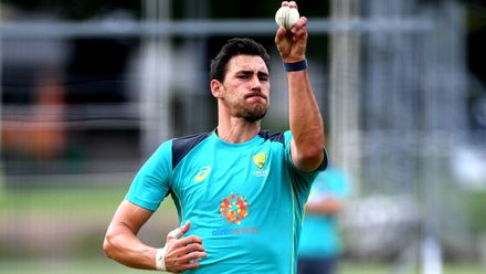 Player of the tournament in CWC 2015 and pace spearhead Mitchell Starc is in pristine condition