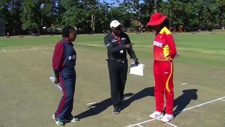 Women's T20 2019 – Africa: ZIM v MOZ  toss