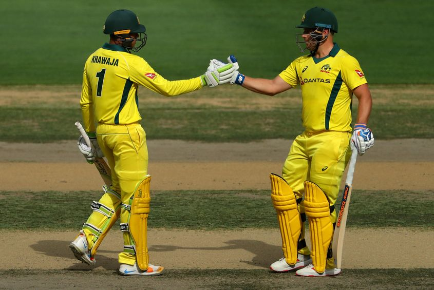 Finch and Khawaja were the first and second top run-getters for Australia in UAE