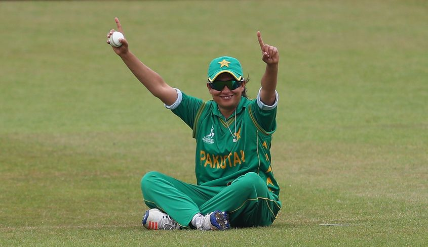 Pakistan's Sana Mir is on the number 3 spot in bowlers' rankings