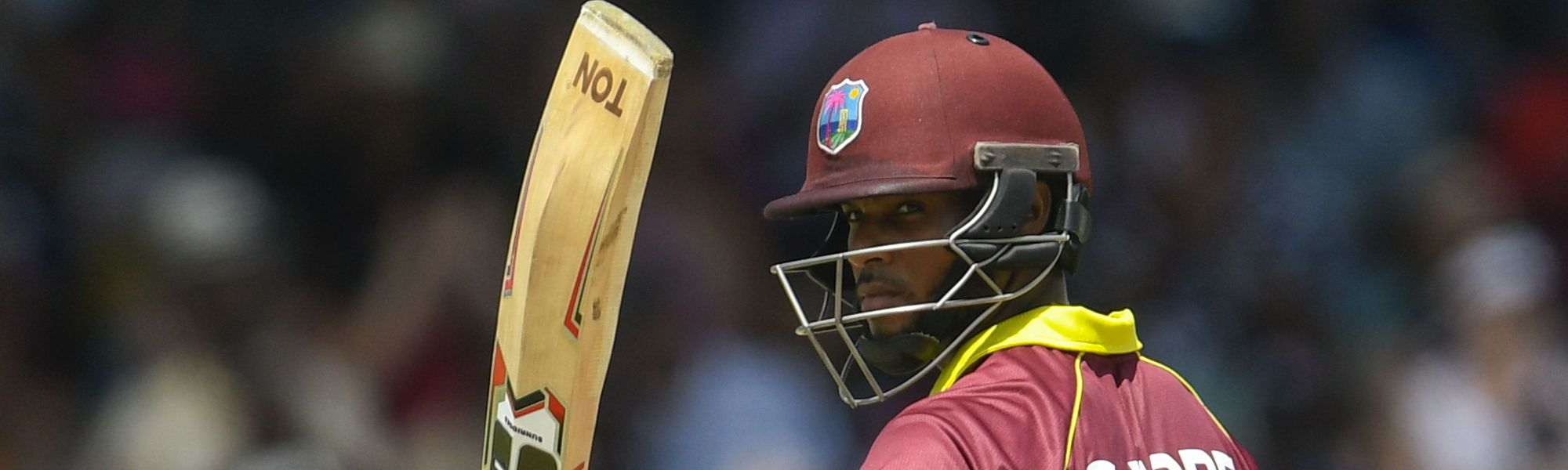 Four of Shai Hope's six ODI centuries have come while opening the batting