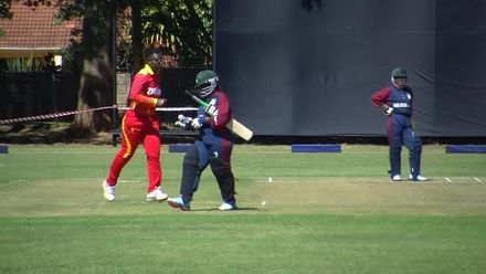 Women's Qualifier 2019 – Africa: Mozambique's O Mondlane bowled by JN Nkomo