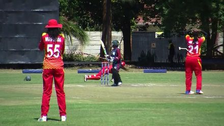 Women's Qualifier 2019 – Africa: Zimbabwe v Mozambique highlights