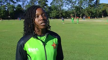Women's Qualifier 2019 – Africa: ZIM v MOZ pre-match interviews