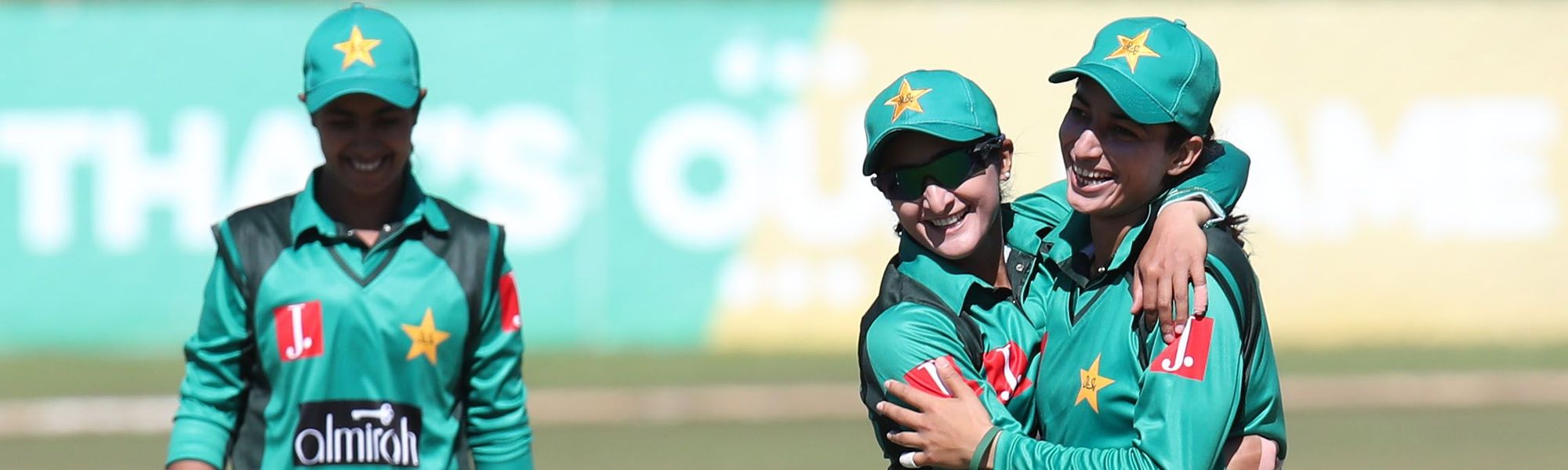 Pakistan shone with the ball, as Sana Mir returned match-winning figures of 4/11