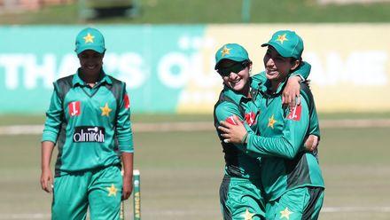 Pakistan shone with the ball, as Sana Mir returned match-winning figures of 4/11