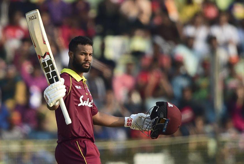 Shai Hope scored 297 runs in three games in the bilateral series against Bangladesh in Dec 2018