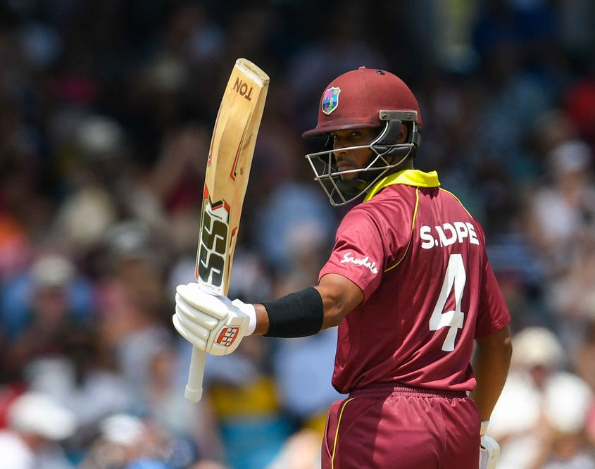 Shai Hope smashed a 152-ball 170 in the tri-series opener against Ireland