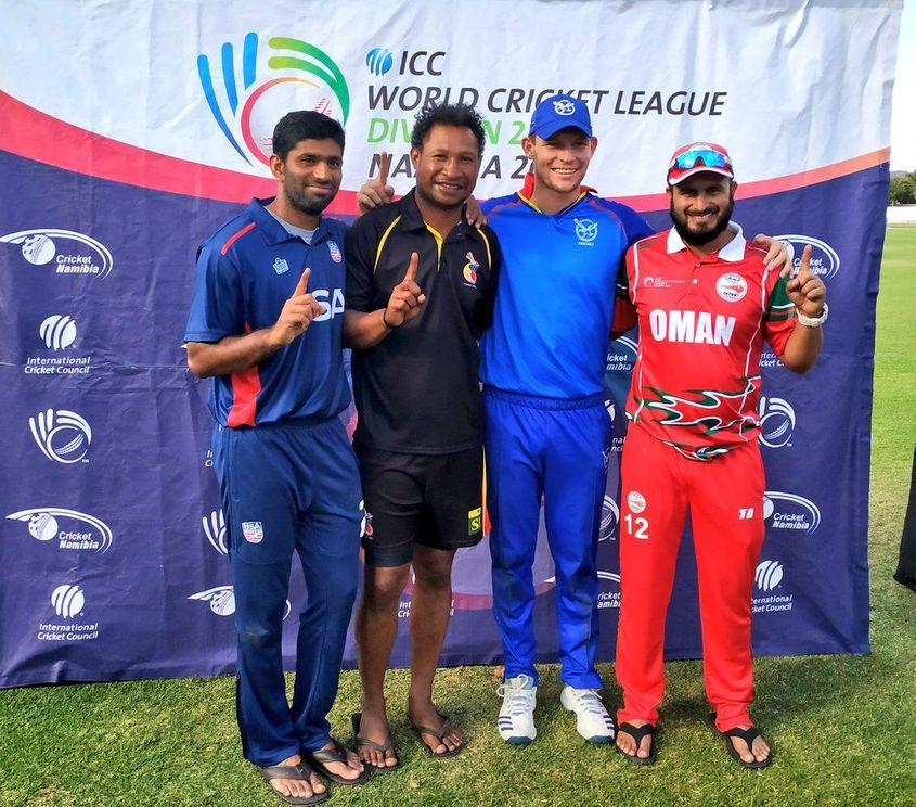 Icc Men S Cricket World Cup League 2 Series Announced