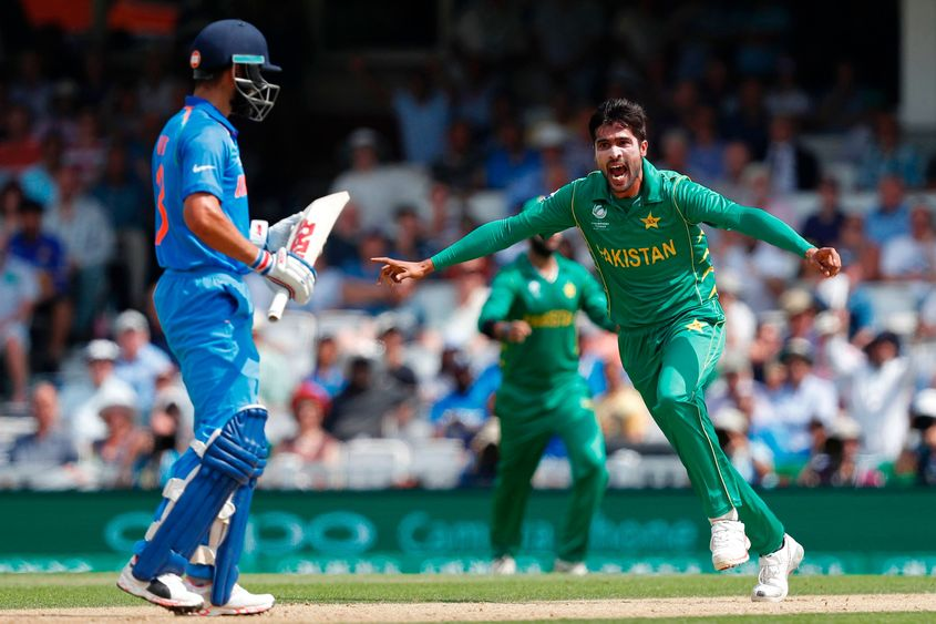 Amir memorably dismissed Virat Kohli in the Champions Trophy 2017 final