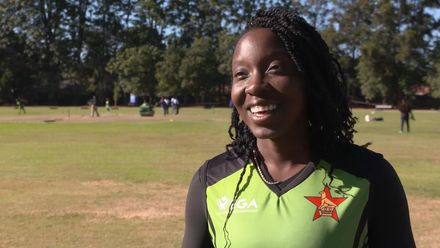 Women's Qualifier 2019 – Africa: Zimbabwe v Nigera pre-match interview