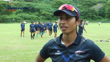 Women's Qualifier 2019 – Africa: Samoa v PNG – Pre-match interviews