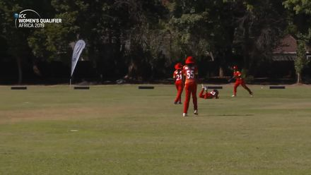 Women's Qualifier 2019 – Africa: Zimbabwe get early breakthrough, courtesy of diving catch