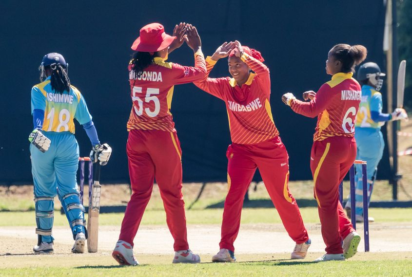 Zimbabwe finished on top of Group A