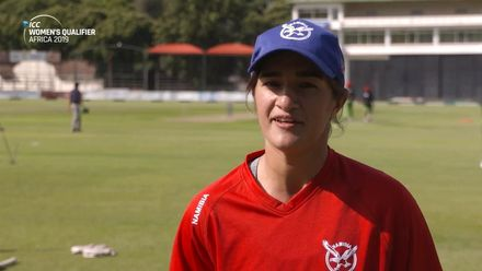 Women's Qualifier 2019 – Africa: Final – Yasmeen Khan pre-match interview