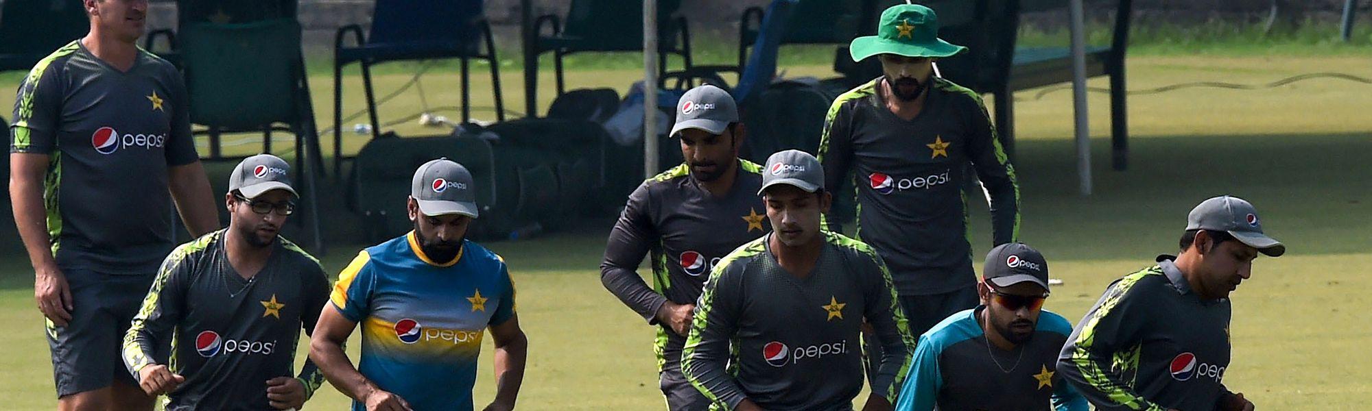 Pakistan training