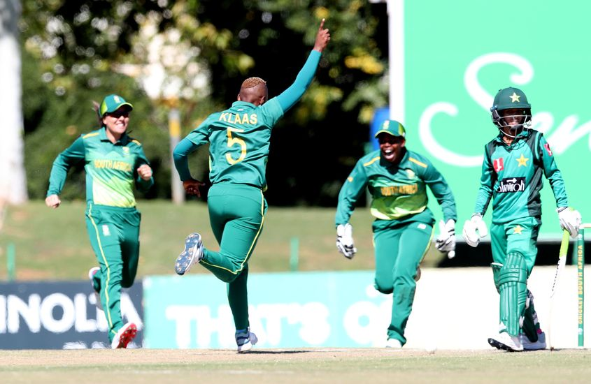 Masabata Klaas claimed three key wickets
