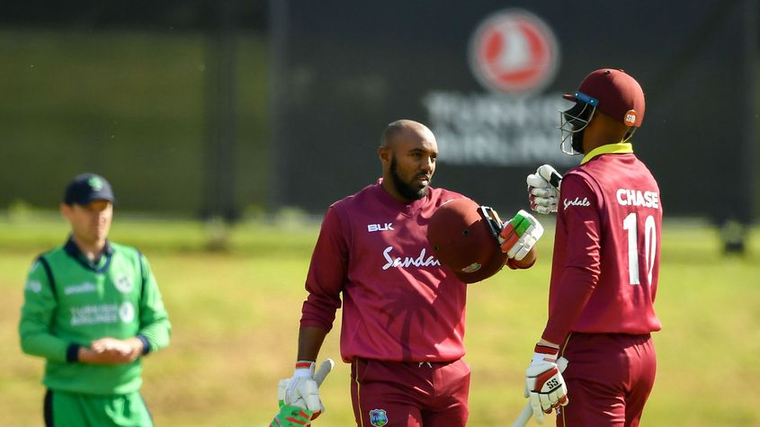 Ambris smashed a brilliant 148 against Ireland in May