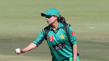 Sana Mir picked up her 147th ODI wicket, making her the third-highest wicket-taker on the women's ODI charts and the highest among spinners