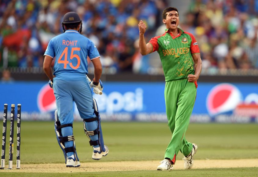 Taskin Ahmed was the highest wicket-taker for Bangladesh in World Cup 2015