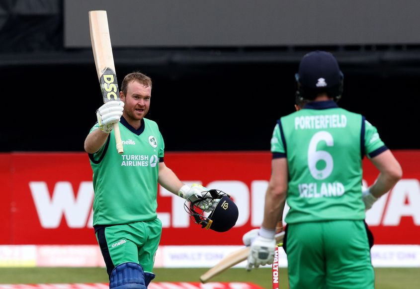 Paul Stirling's century couldn't prevent a Bangladesh win