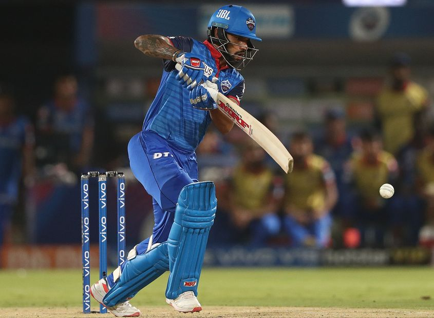 Shikhar Dhawan geared up for the World Cup with a stellar IPL season