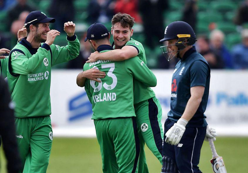 Josh Little impressed on ODI debut against England