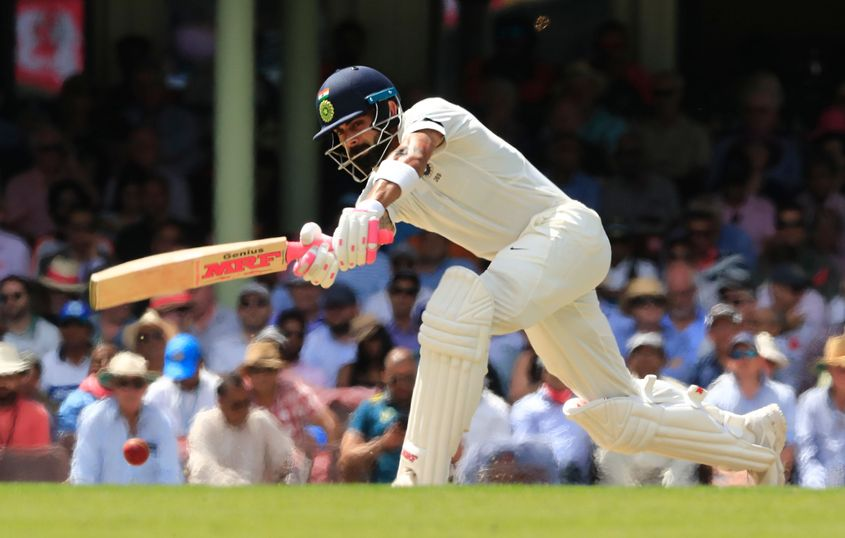 Virat Kohli began his transformation into a batsman who could score big Test hundreds during the 2014-15 tour of Australia
