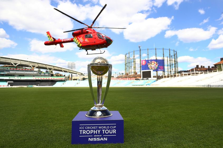 10 Million Prize Pot For Icc Men S Cricket World Cup 2019