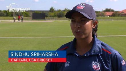 Women's Qualifier, 2019 - Americas: USA v Canada - Match 2 - pre-match interview with Sindhu Sriharsha