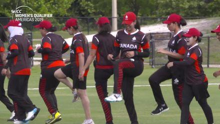 Women's Qualifier 2019 - Americas: USA v Canada, Match 3, Canada pre-match interview