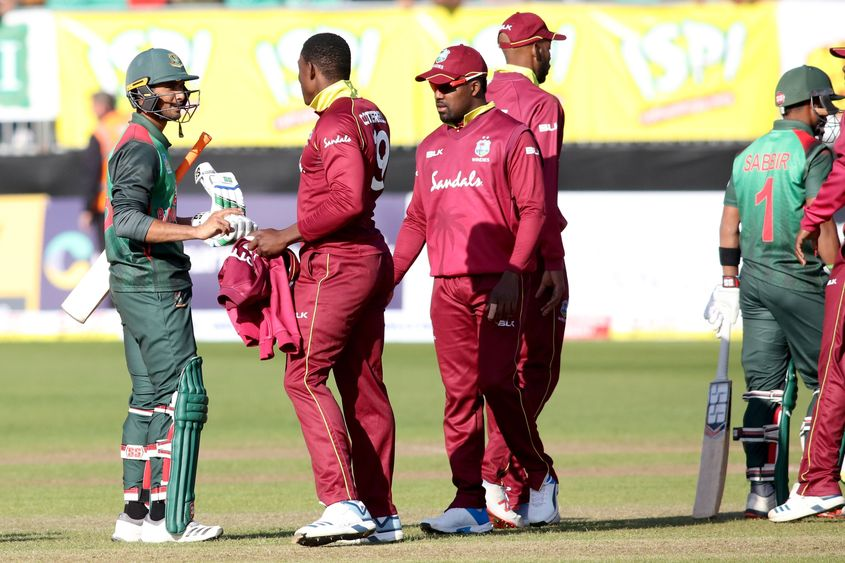 West Indies recently lost the tri-nation series final against Bangladesh