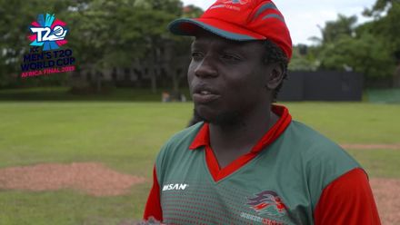Men's T20 World Cup Africa Final Qualifier: KEN v NGR – Kenya captain pre-match interview