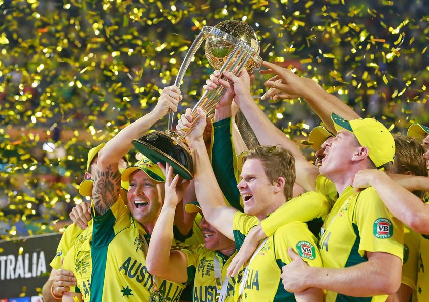 Australia have won four of the last five World Cups