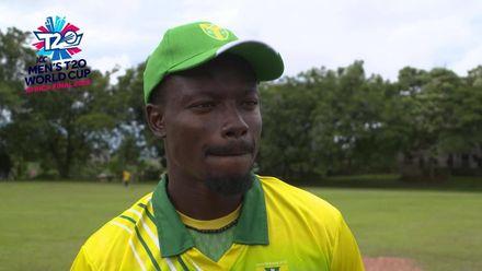 Men's T20 World Cup Africa Final Qualifier: KEN v NGR –Nigeria captain pre-match interview