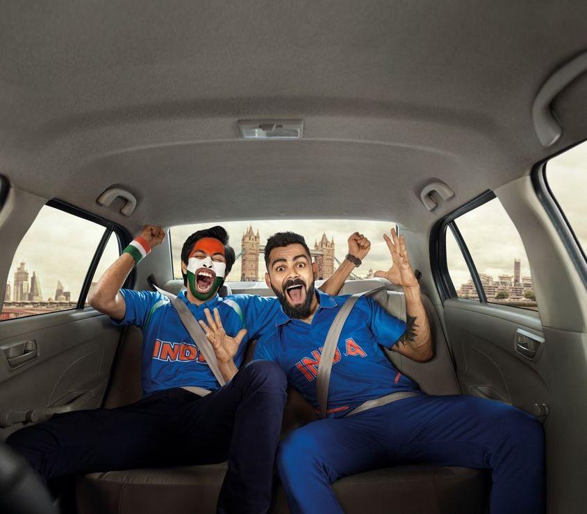 India captain Virat Kohli is Uber brand ambassador